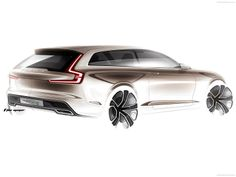Volvo Estate Concept 2014 | Sketch