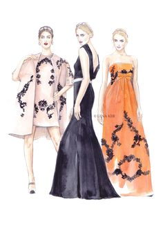 artwork by Lena Ker: inspiration - Dolce & Gabbana SS 2014