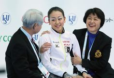 SOCHI, RUSSIA - DECEMBER 08:  Mao Asada of Japan smiles as she receives her scores after performing in the Ladies Free Skating during the Grand Prix of Figure Skating Final 2012 at the Iceberg Skating Palace on December 8, 2012 in Sochi, Russia.