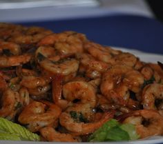 north carolina BBQ shrimp