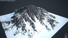 ArtStation - World Machine - Mountain, Aaron Fowler