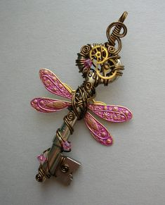 Dragonfly Key - I WANT THIS TATTOOED ON ME!