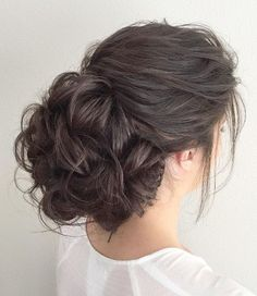 Featured Hairstyle: Heidi Marie Garrett of Hair and Makeup Girl; Wedding hairstyle idea.