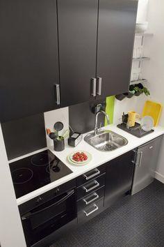 Resultado de imagen para pinterest cocinas pequeñas