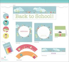FREE Back To School Printable from URinvited