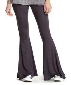 Grey Flare Pants