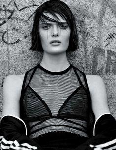 Vogue UK March 2014 | Sam Rollinson by Alasdair Mclellan