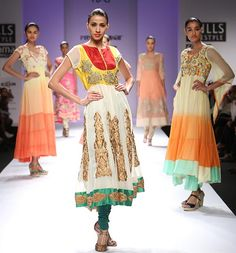 Preeti Jhawar shows beautiful bohemian pieces on the runway at India Fashion Week, 2013 Wills Lifestyle, India Fashion Week, Young Designers, New Look, Runway, Bohemian, Asian, Style Inspiration, Inspired