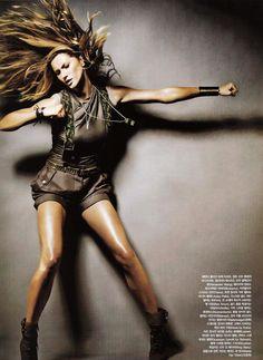 Gisele Bundchen | Photography by Nino Munoz | For Vogue Korea | May 2010