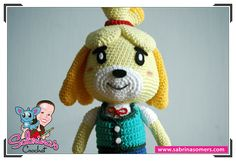 Isabelle - Animal Crossing - Crochet Pattern - Amigurumi