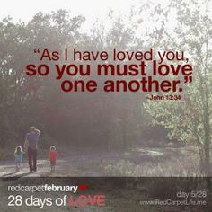 As I:: have loved you so you must love one another