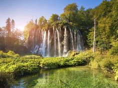 plivitice falls croatia 15 Most Beautiful Waterfalls in the World - Condé Nast Traveler