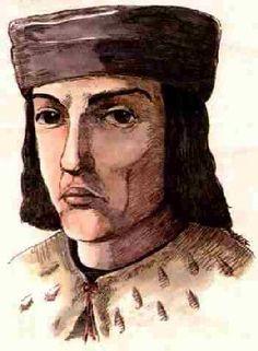 Jorge Manrique, noble de gran carácter, escritor de las coplas a la muerte de su padre, poema elegíaco donde se muestran las visiones medievales para con la muerte