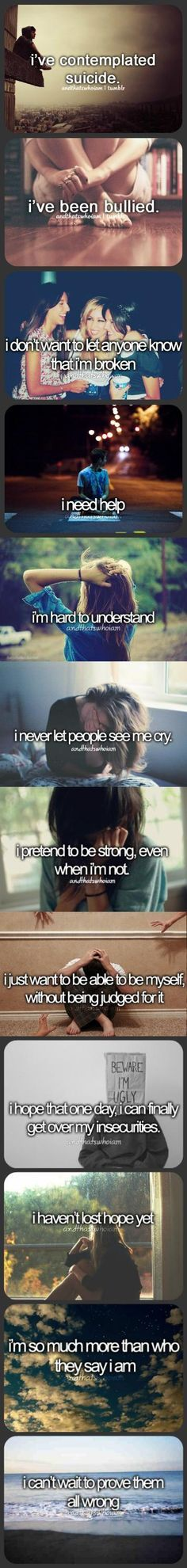 That's me. Real me.
