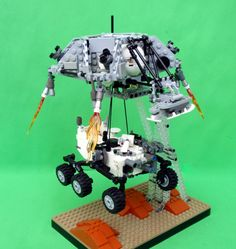 Lego version of Mars Curiosity rover moves closer to reality | Tech Culture - CNET News