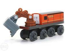 75 lei: Locomotiva excavator Marion  nou-nouta, produs Fisher Price pentru sinele de lemn (2,5 cm)  putem aduce la comanda orice piesa, nu doar cele care sunt in anunturi, multe altele  comenzile se pr... Fisher Price, Orice, Wooden Toys, Wooden Toy Plans, Wood Toys, Woodworking Toys