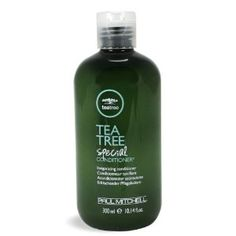Paul Mitchell Tea Tree Conditioner, 10.14 Ounce by Paul Mitchell. $18.19. A refreshing fragrance experience. Helps prevent moisture loss. Rejuvenates mind and body. Paul Mitchell tea tree conditioner combines invigorating tea tree oil with conditioners and shine enhancers. Fortified with tea tree oil, peppermint, and lavender.