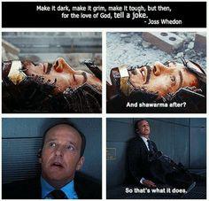 Whedon--Master storyteller.