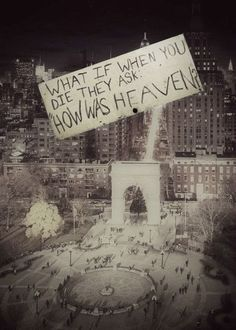 """""""How was heaven?"""" What a thought provoking question. There's a story here, I can feel it. Story Inspiration, Writing Inspiration, Le Vent Se Leve, A Silent Voice, Fotos Do Instagram, Beautiful Words, Beautiful Pictures, Beautiful Life, Writing Prompts"""