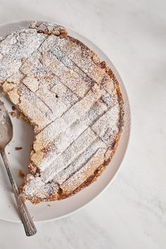 PASTIERA NAPOLETANA ~~~ typically enjoyed at easter, this traditional cake is made from wheat berries, ricotta, and candied citrus peels. [Italy, Naples] [lifelovefood]