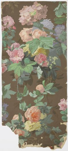 Gorgeous wallpaper! Maybe for the foyer.