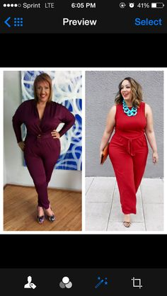 #plussize #jumpsuit #kardashiankoklection Plus Size Fashion, The Selection, Jumpsuit, Dresses, Overalls, Vestidos, Monkeys, Plus Size Clothing, Dress