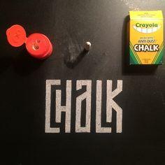 Chalk by Raymond Mawst