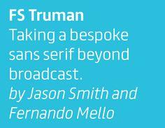 Fontsmith — FS Truman