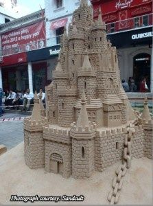 amazing sand castle sculpture art