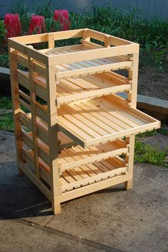 Brian M. Law » Harvest Rack Good soap drying rack