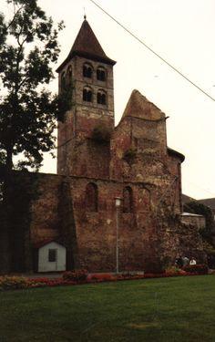Ecclesiastical Ruins in my new home, Bad Hersfeld-Hessen Germany <3