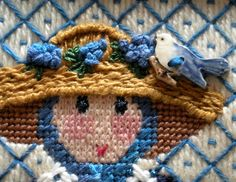 When I first saw Linda Ragno's Garden Ladies  by Cooper Oaks Design, I was totally charmed.  I just had to stitch this lovely flower lady w...