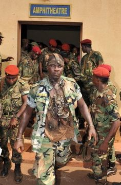 A soldier of Ginee Conakry