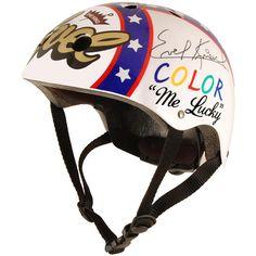 Kiddimoto Bike Helmet - Evel - Small (69 CAD) ❤ liked on Polyvore featuring multi