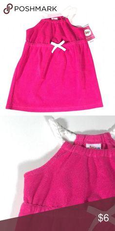 NWT Circo Pink Terry Cloth Dress NWT Circo Pink Terry Cloth Dress, so cute!  Great as a dress or swim suit cover-up! Circo (Target) Dresses