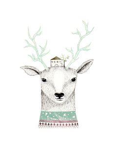 Deer by Missmalagata