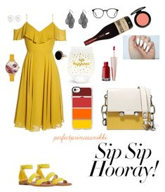"""Wine Tasting : Entry #2"" by perfectprincessnikki on Polyvore featuring Nine West, Jenny Yoo, Avenue, Casetify, Vera Bradley, MAC Cosmetics, Ted Baker, Kenneth Jay Lane, Ginette NY and Marni"