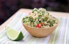 Quinoa Tabbouleh: a Beautiful Fresh Herb Salad