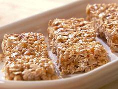 Oatmeal Peanut Butter Energy Bars Recipe : Food Network - FoodNetwork.com
