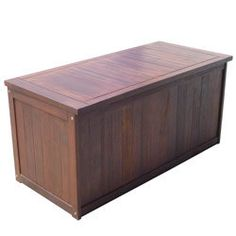 Coffre de rangement en bois AUCKLAND