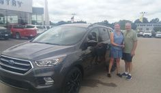 Thank you, Brenda for the opportunity to help you with your new 2017 FORD ESCAPE!  All the best, Kunes Country Ford Lincoln of Delavan and DEANNA KLOSTERMAN.