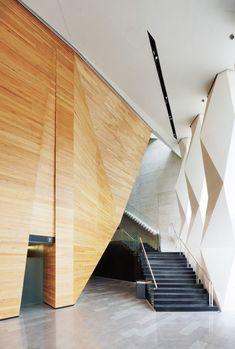 Le cabinet d'architecture Broissin Architects a concu et réaliser le centre culturel Roberto Cantoral…