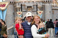 Disneyland with Infants and Toddlers. Can't wait to take the kids.