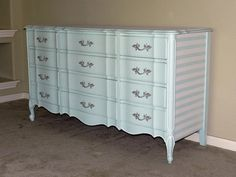 painted furniture, chic dresser, one of a kind , hand painted, kiddie chic, children's dresser, unique furniture