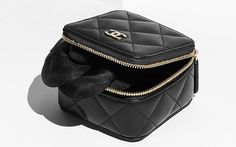 Chanel Small Quilted Pouch