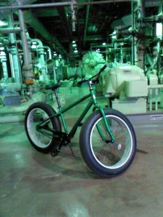 Got the mongoose beast today. Rode to work:-) fat bike fun #fatbike #bicycle