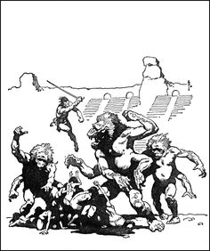 Frank Frazetta ~ The Gods of Mars / The Warlord of Mars by Edgar Rice Burroughs
