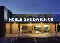 Noble Sandwich Co. - Austin | Brentwood Restaurant Menus and Reviews