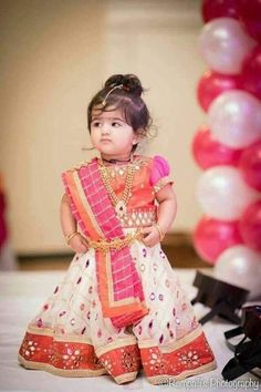 Baby girl dresses traditional 26 ideas for 2019 Kids Party Wear Dresses, Cute Baby Dresses, Kids Dress Wear, Baby Girl Party Dresses, Kids Gown, Birthday Girl Dress, Dresses Kids Girl, Kids Wear, Baby Girl Frocks