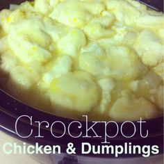 Pinning with Mrs. Pennington: Crockpot Chicken & Dumplings. This recipe is a keeper!